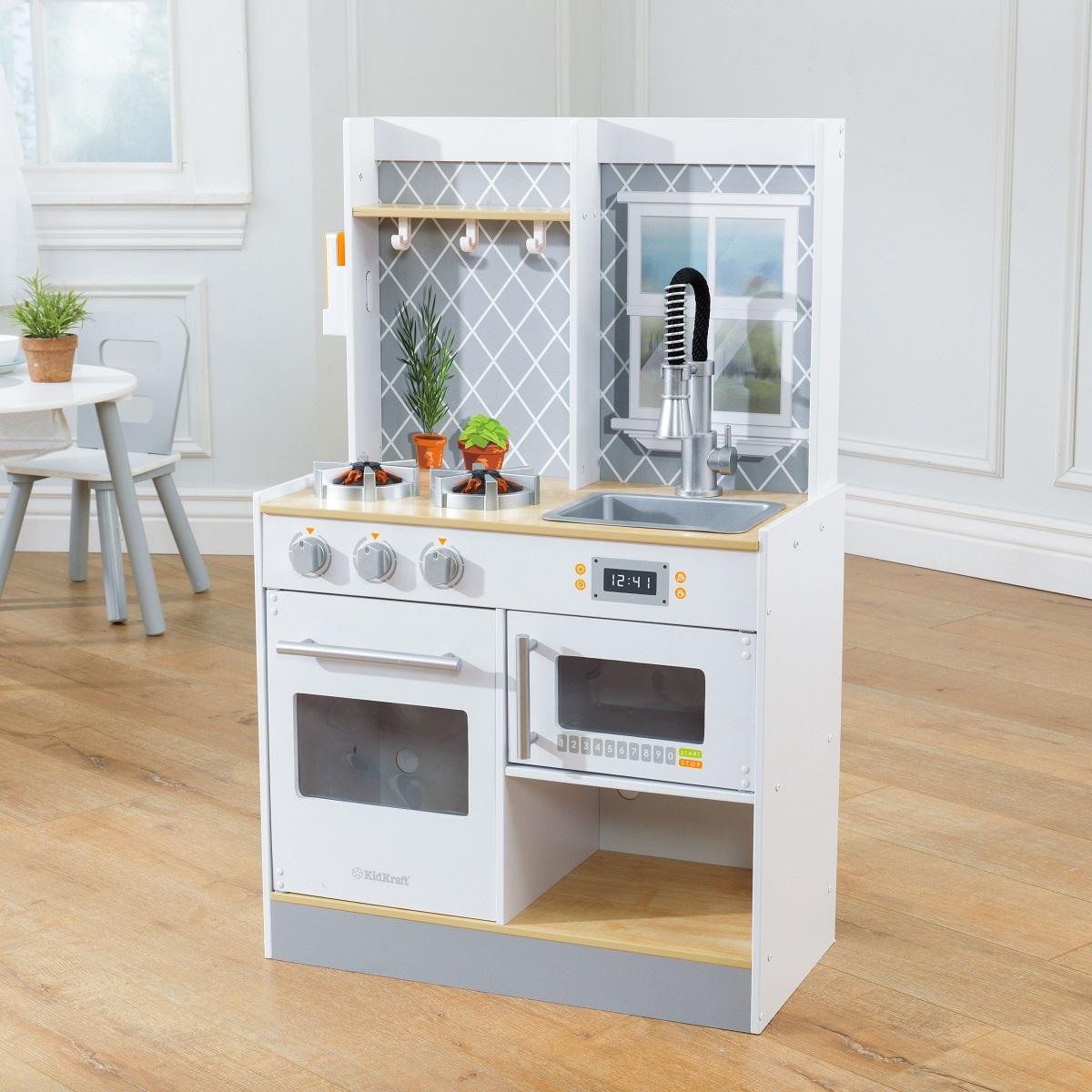 Kidkraft Let S Cook Wooden Play Kitchen Kitchen