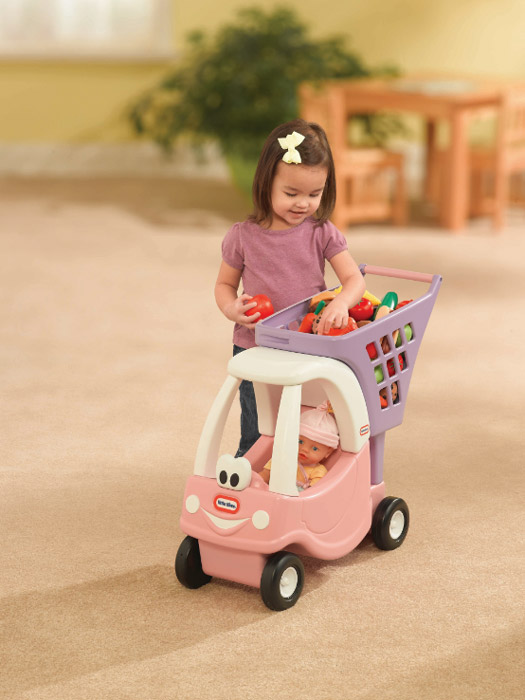 Little Tikes Princess Cozy Shopping Cart, Shopping Toys