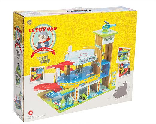 ... about Le Toy van Le Grand Garage Wooden, toy garages, wooden garage