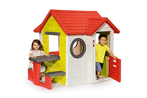 smoby my house with picnic table smoby my house playhouse. Black Bedroom Furniture Sets. Home Design Ideas