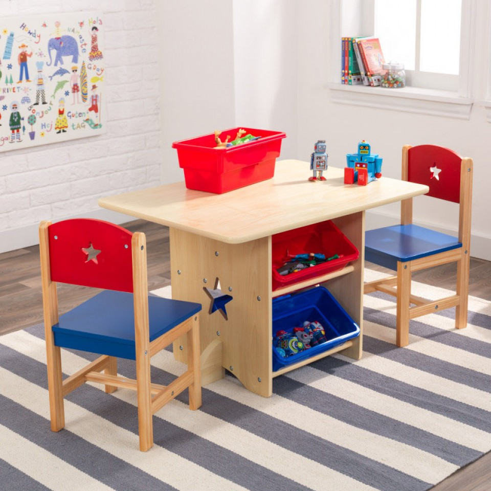 primary star with en chair kidkraft w table toy bins us set and