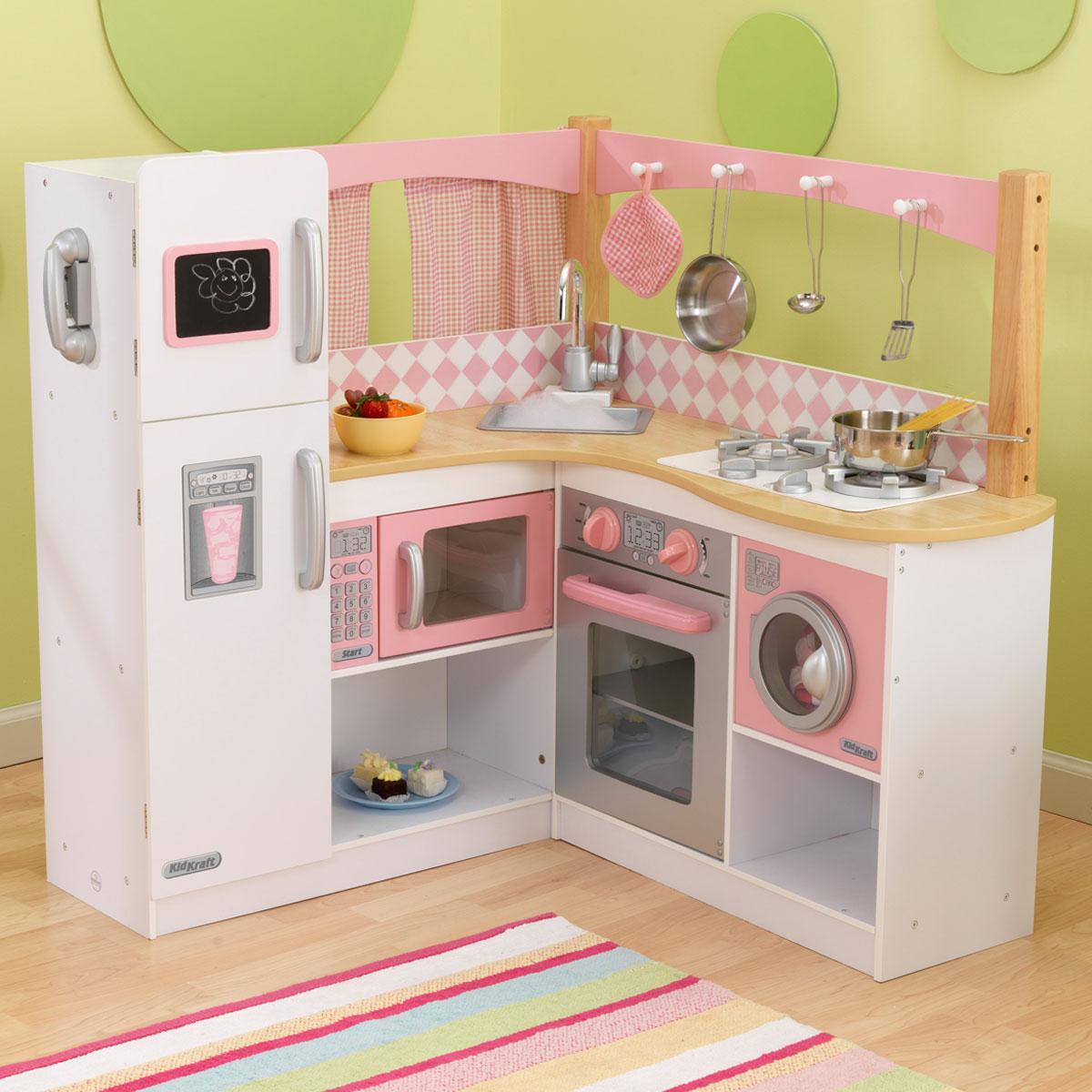 Charmant KidKraft Grand Gourmet Corner Wooden Play Kitchen