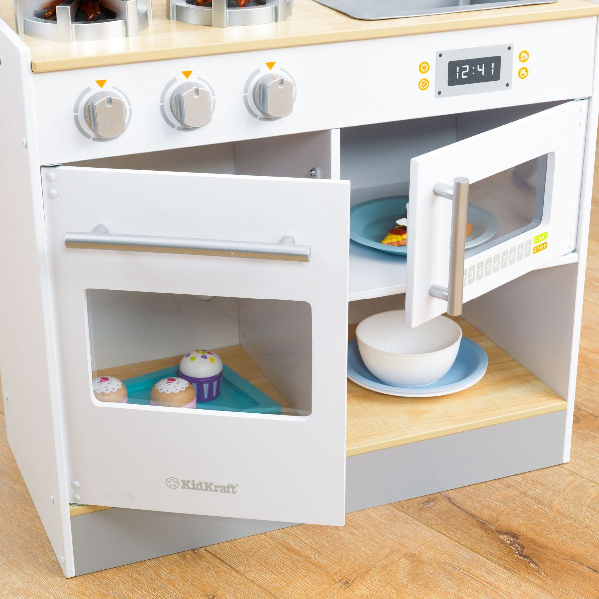 Kidkraft Let\'s Cook Kitchen, Kidkraft Kitchen, wooden kitchens ...