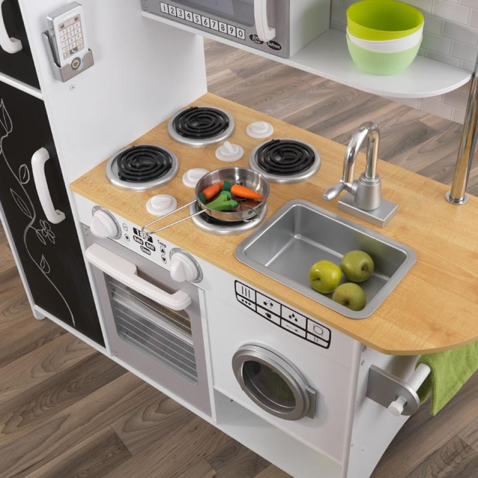 Kidkraft Pepperpot Kitchen, Wooden Play Kitchens, Toy